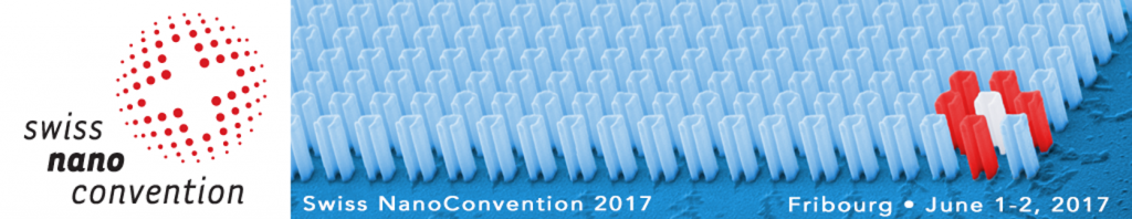 Banner of the Swiss nano convention 2017 in Fribourg