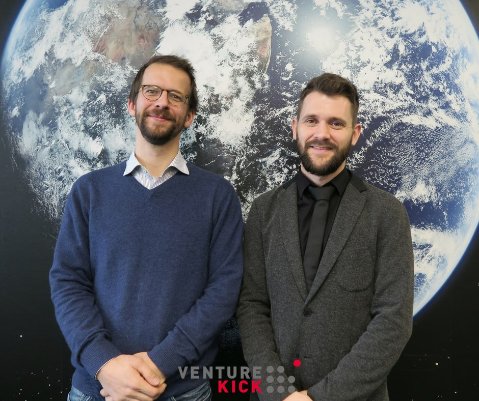 Qnami founders Patrick Maletinsky and Mathieu Munsch
