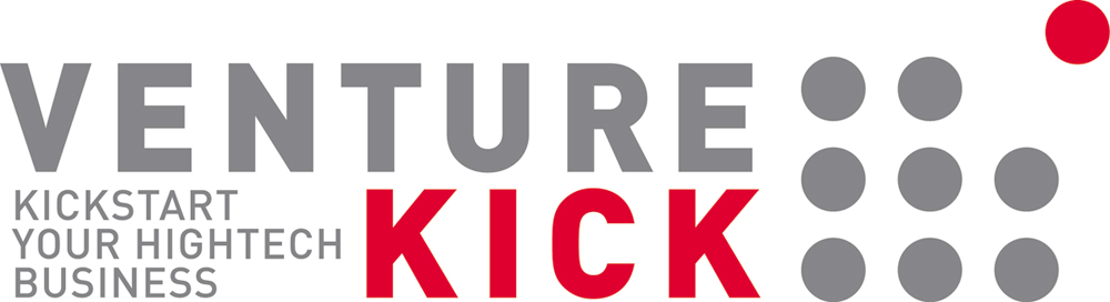 Logo of Venture Kick. Kickstart your Hightech Business.