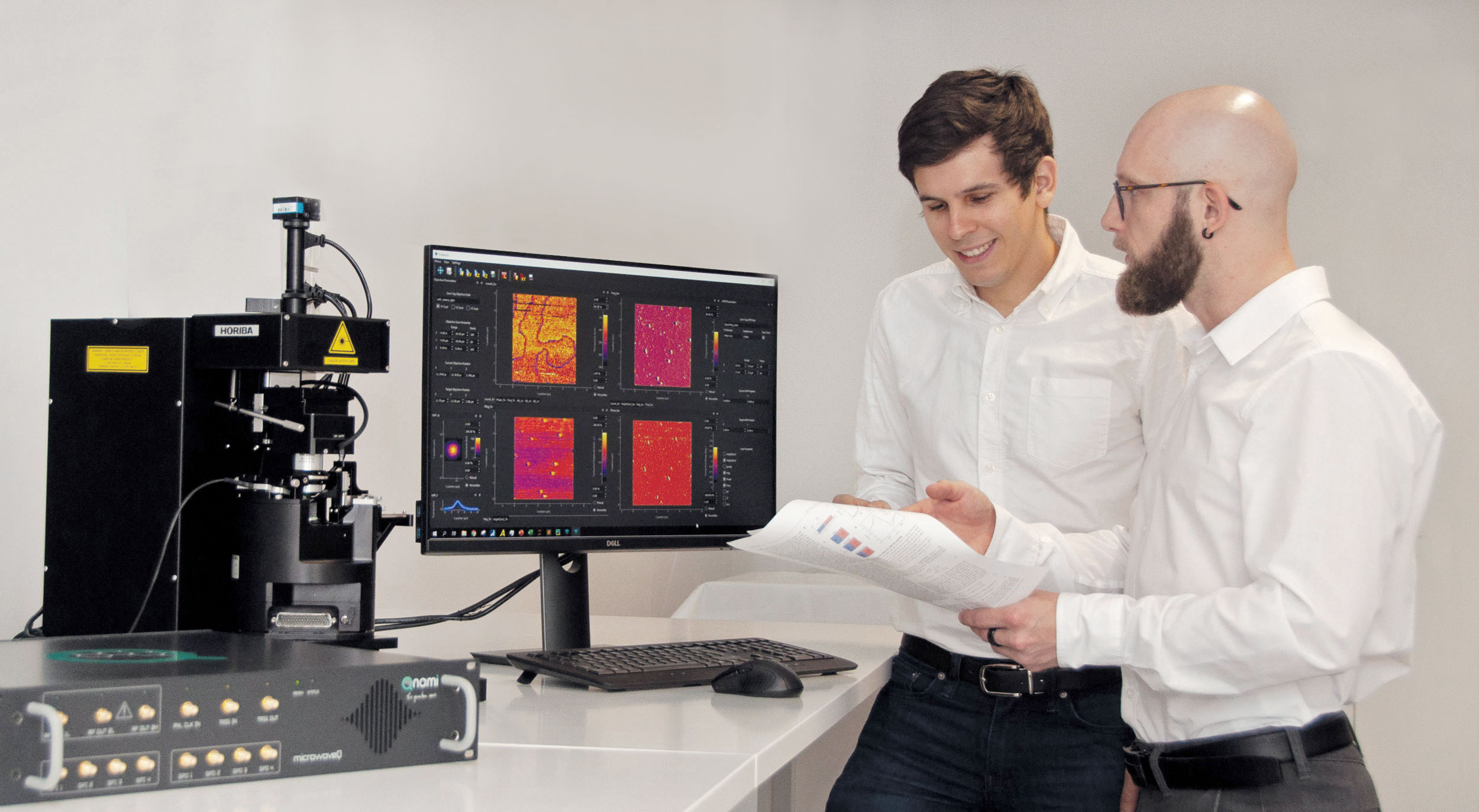 Working with the Qnami ProteusQ Scanning NV Microscopy system