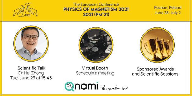 Qnami at Physics of Magnetism